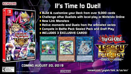 Yu-Gi-Oh! Legacy of the Duelist Link Evolution (Nintendo Switch) - image 2 of 9