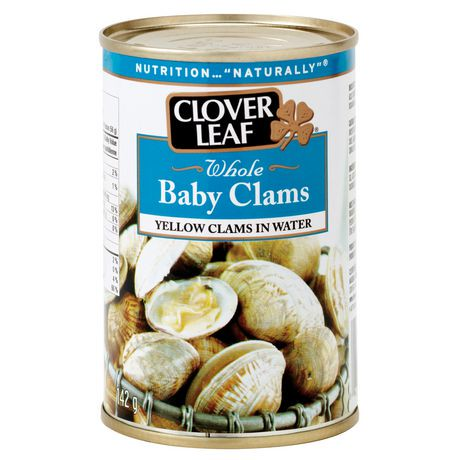 Clover leaf whole baby clams 142g walmart canada for How much are fish at walmart