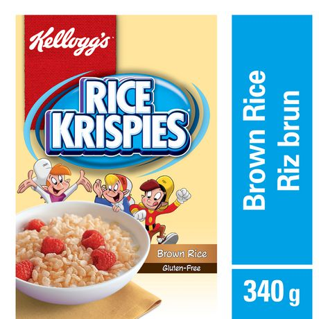 Kellogg's Rice Krispies Cereal Brown Rice Gluten Free, 340g - image 1 of 5