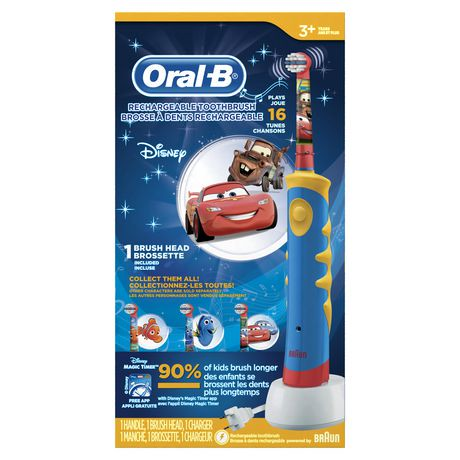 brosse dents lectrique rechargeable oral b pour enfants mettant en vedette les personnages. Black Bedroom Furniture Sets. Home Design Ideas