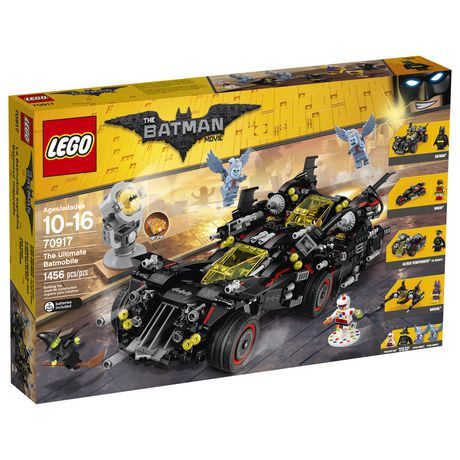 Lego Batman Movie The Ultimate Batmobile (70917)