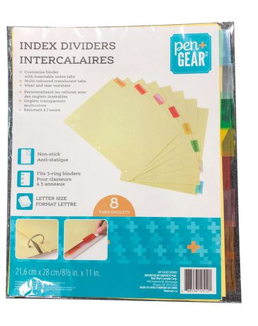 PEN+GEAR Pen + Gear Letter Size Index Dividers - image 1 of 1