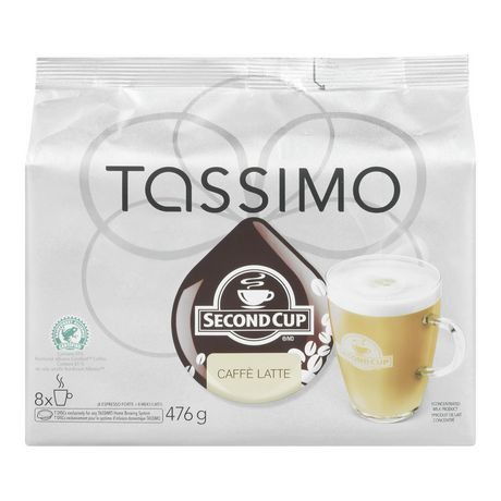 tassimo second cup caff latte t discs coffee walmart canada. Black Bedroom Furniture Sets. Home Design Ideas