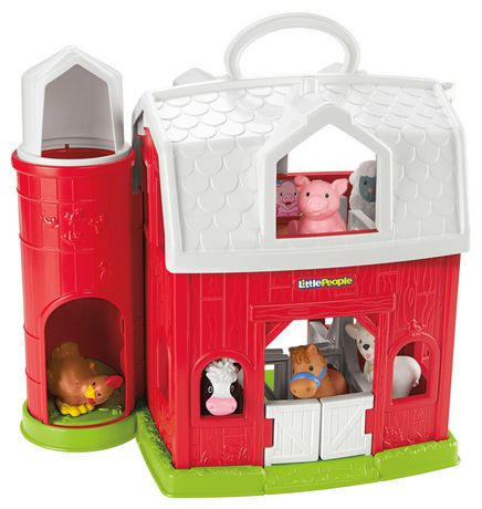 fisher price little people animal friends farm playset walmart canada. Black Bedroom Furniture Sets. Home Design Ideas