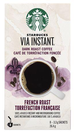 Starbucks® VIA InstantTM French Roast 8ct - image 1 of 3