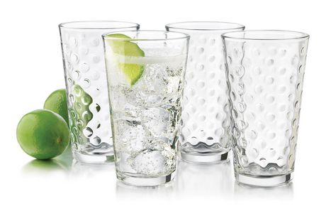 libbey dots hiball glass set 12 piece - Libbey Glassware