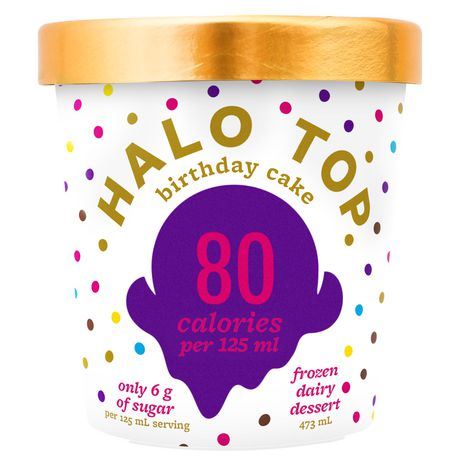 Fabulous Halo Top Birthday Cake Frozen Dessert Walmart Canada Birthday Cards Printable Benkemecafe Filternl