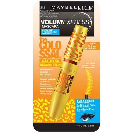 Maybelline New York Volum' Express Colossal CAT Eyes, 9.2 mL - image 1 of 1