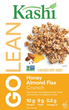 Kashi GOLEAN Honey Almond Flax Crunch Cereal, 400g - image 3 of 5