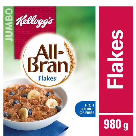 kellogg s all bran flakes cereal 980g walmart canada