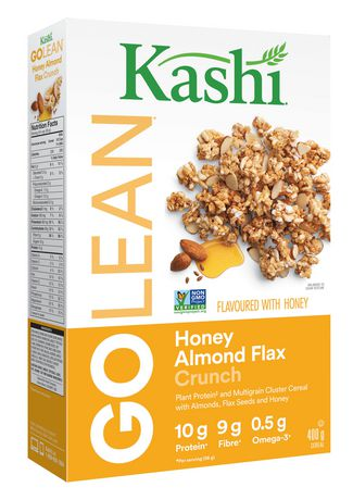 Kashi GOLEAN Honey Almond Flax Crunch Cereal, 400g - image 2 of 5