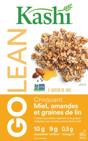 Kashi GOLEAN Honey Almond Flax Crunch Cereal, 400g - image 4 of 5