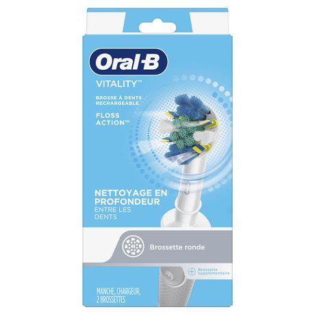 Brosse à dents électrique rechargeable Oral-B Vitality Floss Action - image 2 de 6