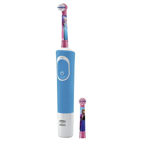 Oral-B Kids Electric Toothbrush Featuring Disney's Frozen with 2 Sensitive Brush heads, Powered by Braun, for Kids 3+ - image 2 of 9