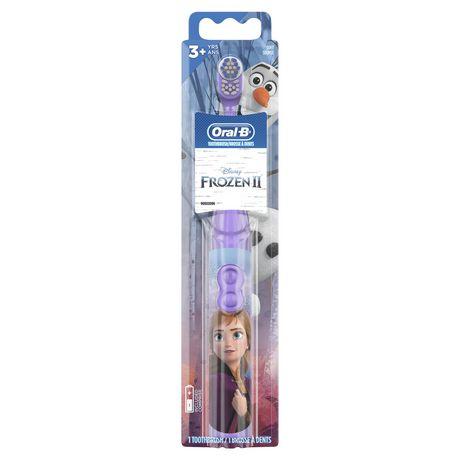 Oral B Pro Health Junior Featuring Disney Frozen Battery