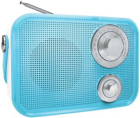 5110996f7 Polaroid PBT533 Retro Wireless Fm Radio And Bluetooth Speaker - image 1 of  1 ...