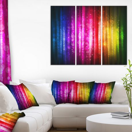 Design Art Glowing Background Canvas Print - image 2 of 2
