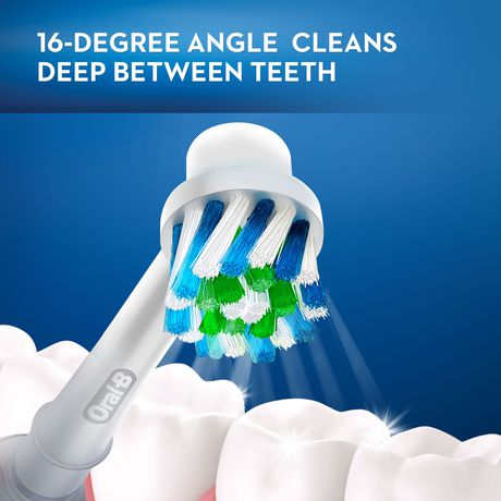 Oral-B Crossaction Electric Toothbrush Replacement Brush Heads - image 3 of 8