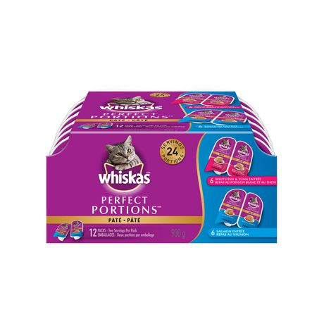WHISKASPERFECT PORTIONSSeafood Selections - image 1 of 5
