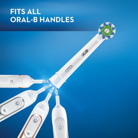 Oral-B Crossaction Electric Toothbrush Replacement Brush Heads - image 4 of 8