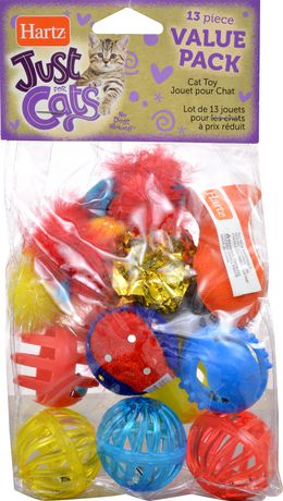 Hartz Just for Cats 13 Piece Value Pack CAT Toy - image 1 of 2