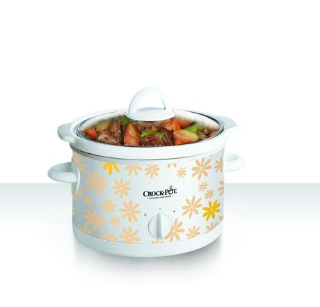 2.5 Qt. Slow Cooker - Daisy Pattern - image 1 of 1