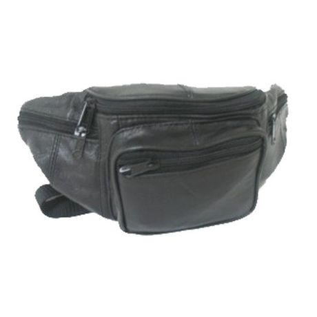 7cf28cb527f5eb Aero Zip Leather Waist Bag - image 1 of 1 ...