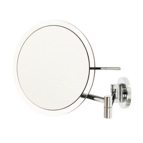 Le miroir de mont de danielle rimless mural 5x le for Miroir walmart