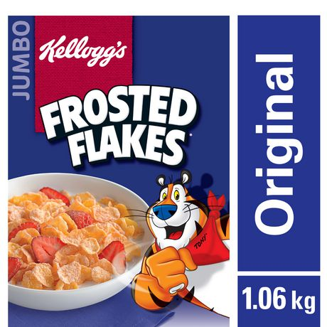 Kellogg's Frosted Flakes Cereal 1.06kg, Jumbo Size - image 1 of 4