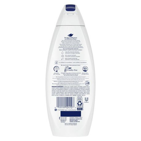 Dove Deep Moisture Hydration Body Wash 354ml - image 3 of 9