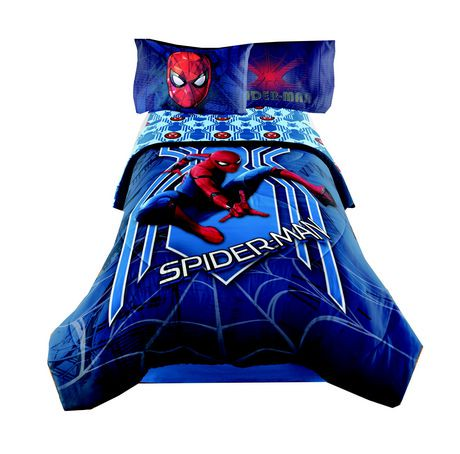 Spider Man Homecoming Twin Full Comforter Walmart Canada