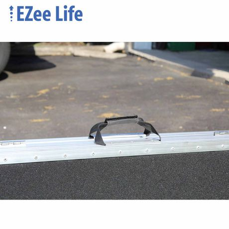Ezee Life 3' Portable Folding Wheelchair Ramp with Grip Tape - image 2 of 2