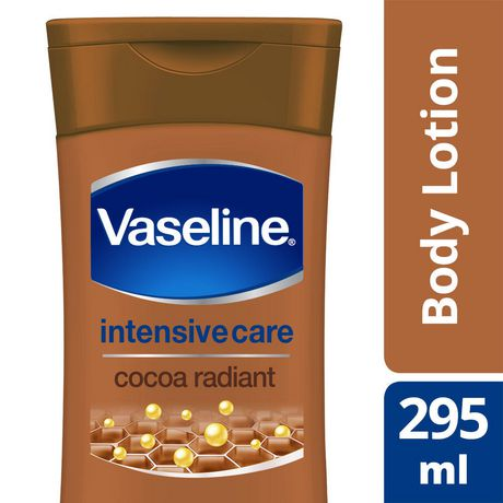 Vaseline® Intensive Care Cocoa Radiant Lotion With Pure Cocoa Butter 295m L by Vaseline