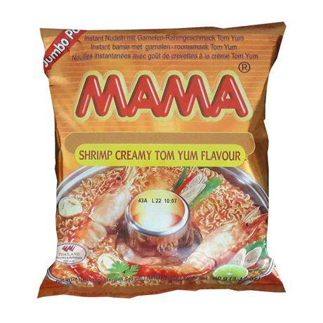 Mama Nouilles instantanées crémeuses Tom Yum à saveur de crevettes - image 1 de 1