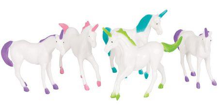 "8 Unicorn Figurines 2"" High - image 1 of 1"