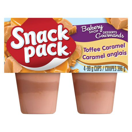 Snack Pack® Toffee Caramel Pudding Cups - image 1 of 2