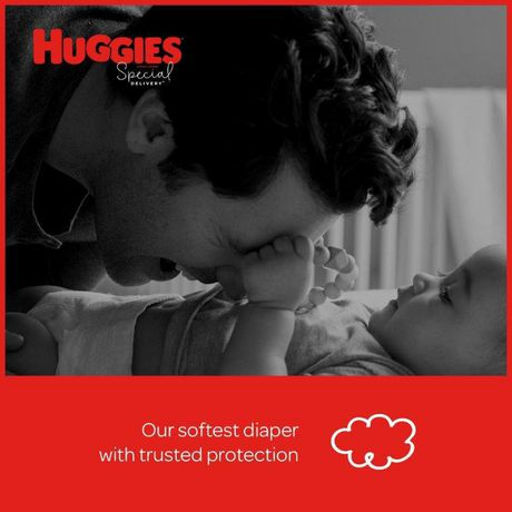 Huggies Special Delivery Hypoallergenic Baby Diapers, Giga Jr. Pack - image 5 of 9
