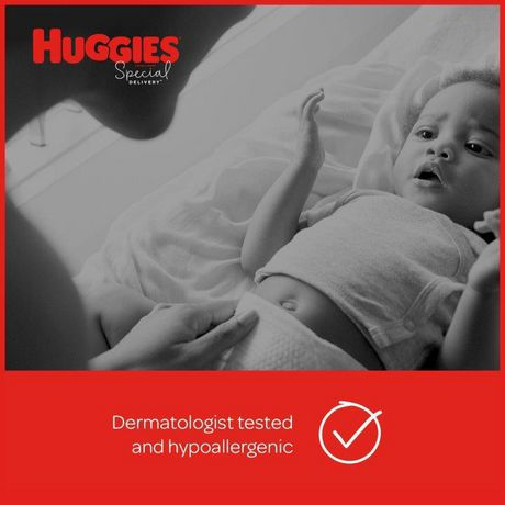 Huggies Special Delivery Hypoallergenic Baby Diapers, Giga Jr. Pack - image 7 of 9