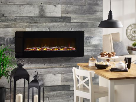 """Winslow 48"""" Wall-mount/Tabletop Linear Fireplace by Cᶟ - image 8 of 8"""