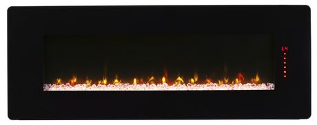 """Winslow 48"""" Wall-mount/Tabletop Linear Fireplace by Cᶟ - image 2 of 8"""