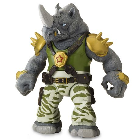 "Teenage Mutant Ninja Turtles - 5"" Basic Action Figure - Rocksteady - image 1 of 1"