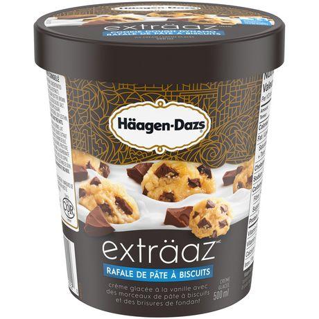 HÄAGEN-DAZS® exträaz™ Cookie Dough Dynamo Ice Cream