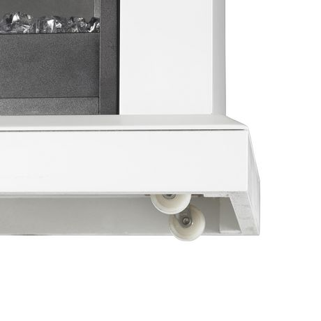 Jasmine Electric Fireplace Mantel by Cᶟ - White - image 6 of 8