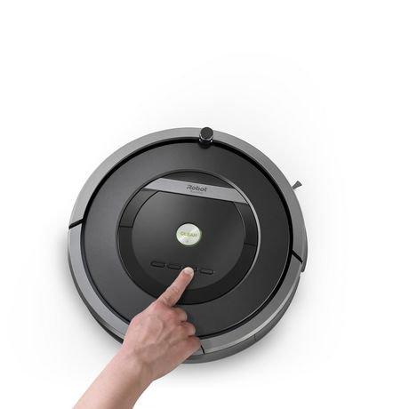 robot aspirateur roomba 801 irobot walmart canada. Black Bedroom Furniture Sets. Home Design Ideas
