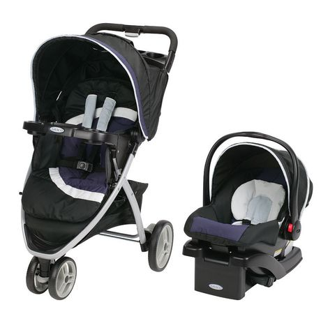 Graco Pace Travel System Click Connect™ 30 Midnight