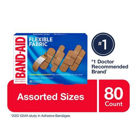 Band-Aid Fabric Bandages, Assorted - image 1 of 8
