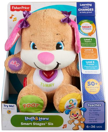 Laugh & Learn Fisher-Price Laugh And Learn Smart Stages Sis Toy- English Edition - image 9 of 9