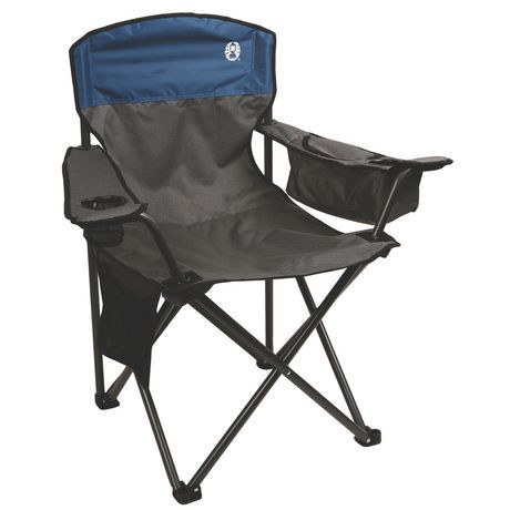 Coleman oversized cooler quad chair walmart canada for Chaise quadriceps