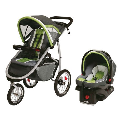 Graco Fastaction Fold Jogger Click Connect Travel System 1926846