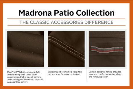 Housse de foyer de terrasse Madrona Rainproof de Classic Accessories - image 4 de 9